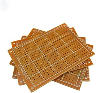 USDWRM PCB Board 10PCS Prototype Paper PCB Universal Board DIY Electronic for Module Board for Point to Point 5 * 7 cm 5 *...