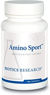 Biotics Research Amino Sport Broad Spectrum Amino Acids, Essential Amino Acids, BCAAs, Sports Recovery, Sup...