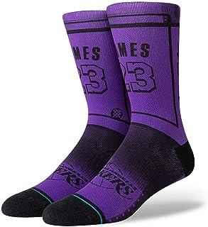e7efcd96c9ed5 Stance NBA Los Angeles Lakers Lebron James LBJ 2 La Chaussettes Homme Violet