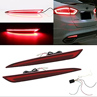 Kaizen LED Rear Bumper Lamp 3 Function Refitting Tail Light With Brake Light And Turn Signal Light Daytime Running Light/DRL For Ford Fusion/Mondeo 2013-2016