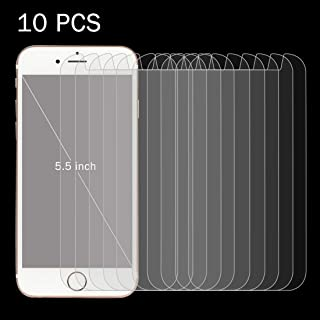 Screen Protector Foils 10 PCS 0.26mm 9H Surface Hardness 2.5D Explosion-Proof Tempered Glass Screen Film for 5.5 inch Mobi...