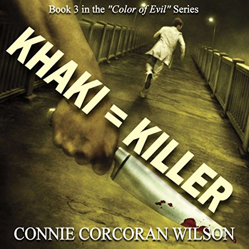Khaki = Killer audiobook cover art
