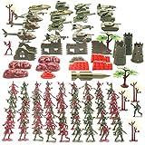 The Twiddlers - Mega set de 519 Soldados de Juguete - Figuras, vehículos y accesorios del ejército
