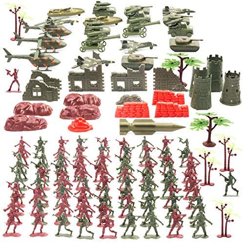 The Twiddlers - 519 Mega Set di Soldatini. Personaggi dell'esercito, veicoli e accessori