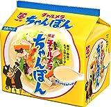 チャルメラ ちゃんぽん5食 箱売り 5食X6