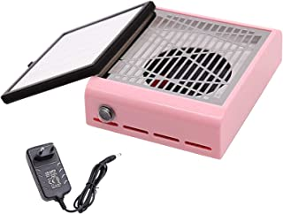Decdeal Manicure Flat Plate Dust Collector Single Fan Nail Dust Machine Large Area Filter Screen Manicure Dust Collector