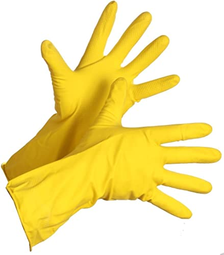 Spartan Anti Slip Gloves Stretchable Scrubbing Gloves Multipurpose Cleaning Gloves Multicolor Pair Of 3