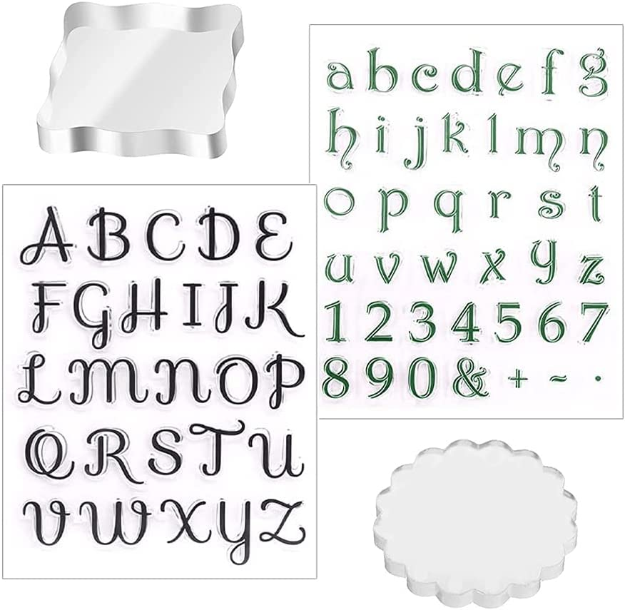 4 At the price of surprise Pcs Popular standard Alphabet Cake Stamp Tools Grade Food Numbers L