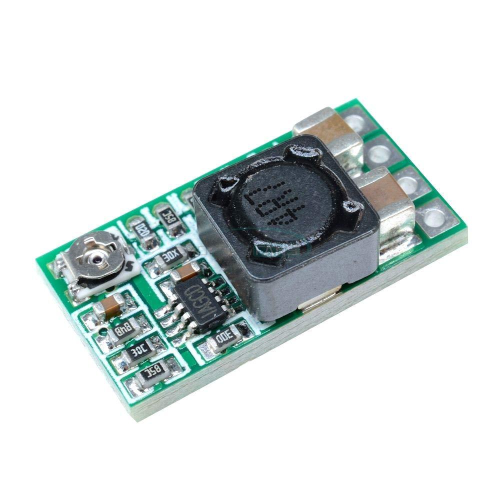 Mini 12V-24V to 5V 3A Step Down Power Supply Module Voltage Buck Converter Adjustable 97.5% 1.8V 2.5V 3.3V 5V 9V 12V DC-DC