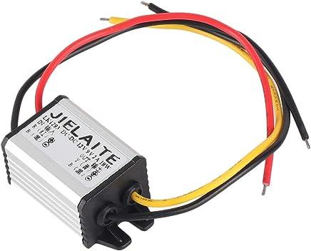Liobaba Impermeable DC a DC Convertidor 12V a 3-9V Regulador de Voltaje del módulo de Potencia