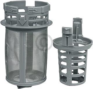 DL-pro Filtro fino para Beko 1740800500 Whirlpool Bauknecht 481248058413, filtro grueso de 2 piezas para lavavajillas DSN ...