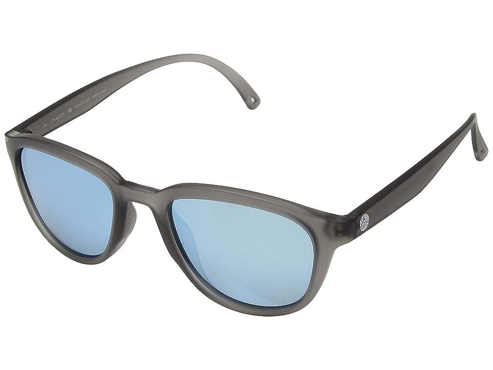 Retro Sunglasses | Vintage Glasses | New Vintage Eyeglasses Sunski Chalet Grey Sky Sport Sunglasses $68.00 AT vintagedancer.com