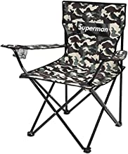 HXSD Outdoor Folding Chair Beach Chair Portable Camping Stool Fishing Chair Mazar Art Student Sketch Chair Folding Stool, Good Material, High Quality, Practical And Durable Folding chair