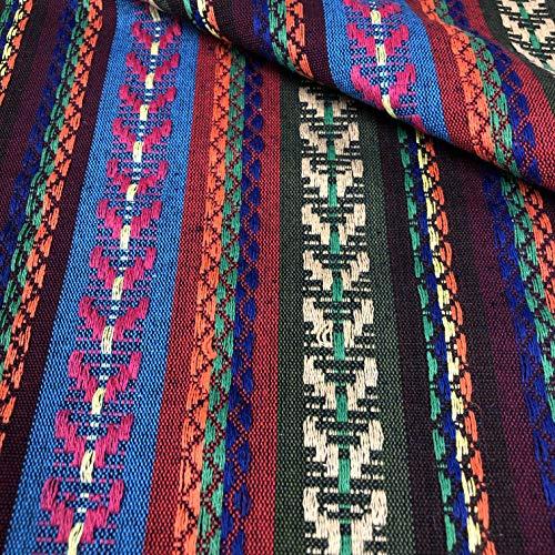 LAS TELAS ... Tela Alpujarreña Multicolor, Ancho 1,50 Mtrs. 1 Mtr.