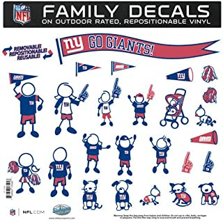 giants family decals