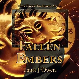 Fallen Embers audiobook cover art