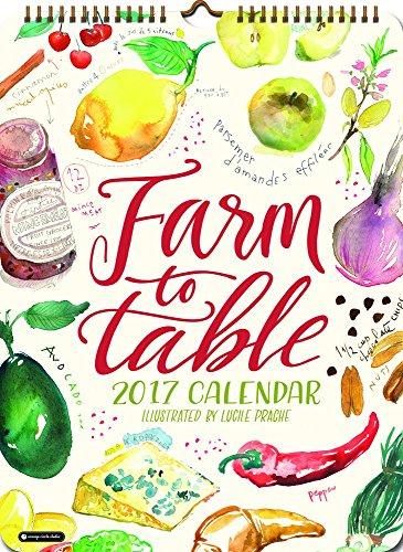 Farm to Table Poster 2017 Calendar