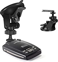 YiePhiot Car Dashboard & Windshield Suction Cup Mount Holder for Escort Passport 9500ix 9500i 8500 7500 X80 X70 X50 Solo S2 S3 S4 SC 55 s75 Beltronics GX65 RX65 Red (Not for Escort IX & MAX Series)