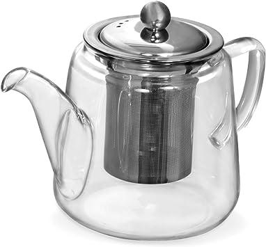 Bule Para Chá Vidro Borossilicato Com Infusor 600 ml