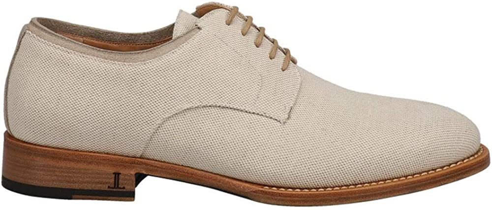 Lucchese Mens Alesandro Oxford Casual Shoes - Beige