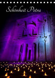 Schoenheit Petra (Tischkalender 2022 DIN A5 hoch): Die gewaltigen roten Felsen und enormen Mausoleen dieser vergangenen Ku...