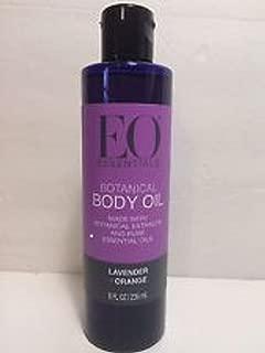 EO Essentials Botanical Body Oil, Lavender+Orange 8 oz