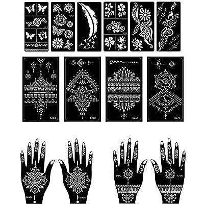 Henna Tattoo Stencil/Temporary Tattoo