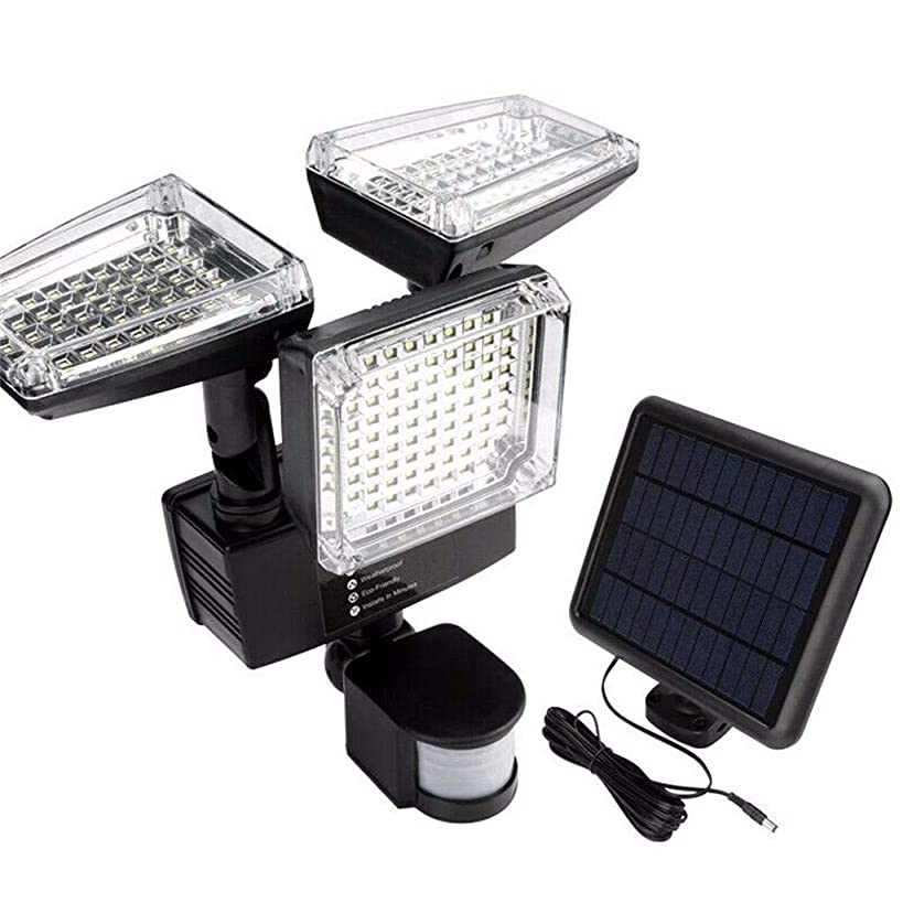 GXOK Solar 188LED 1200 LM Light Outdoor Garden Waterproof Security Motion Sensor Lamp,Landscape Lights,Garden Decoration Light