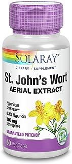 St. John's Wort 300mg Solaray 60 Caps