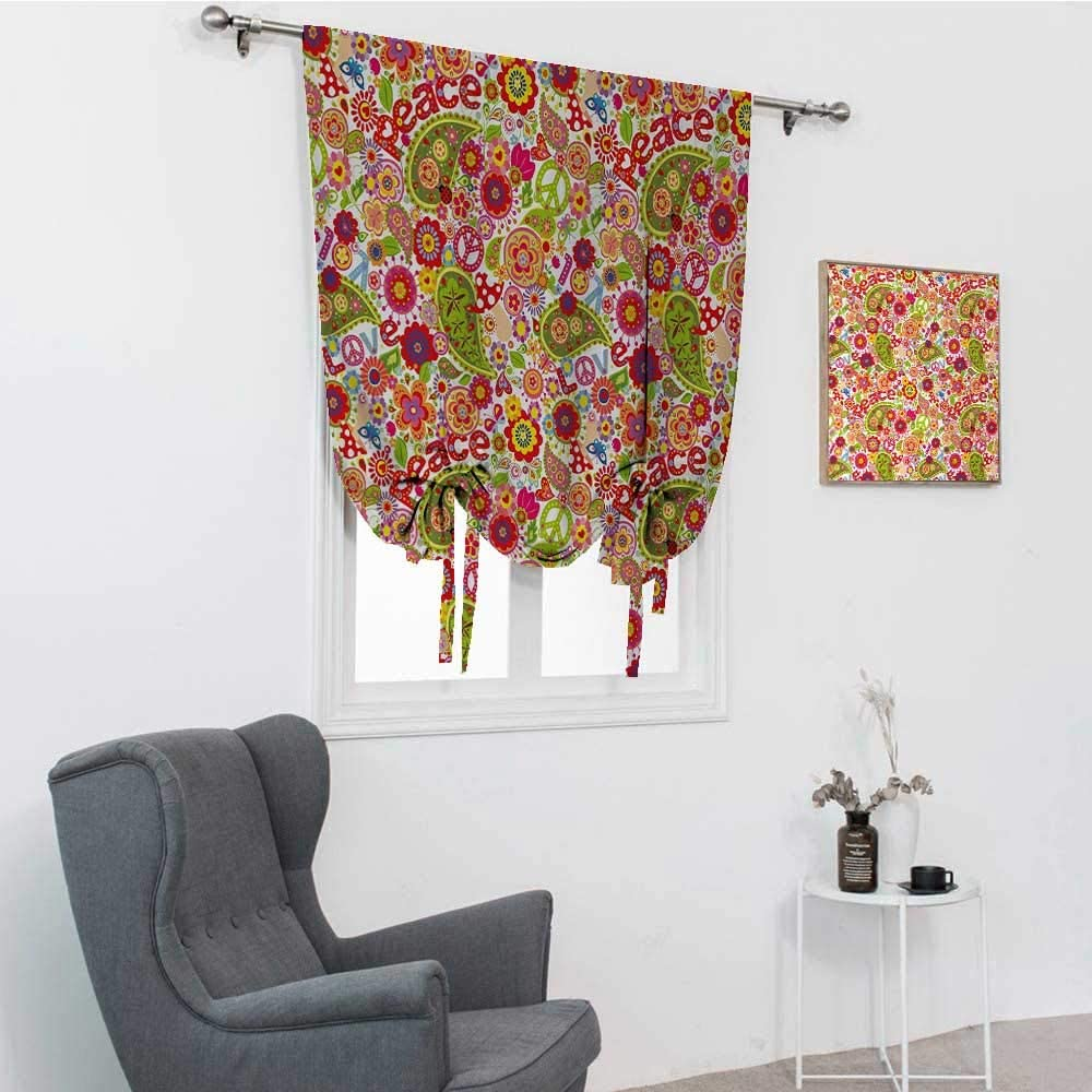 GugeABC 70s cheap Party Window Shades Hippie Festive Childish Composi New popularity