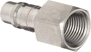 Dixon DCP18S Stainless Steel 303 Air Chief Industrial Interchange Quick-Connect Hose Fitting, Plug, 1/2