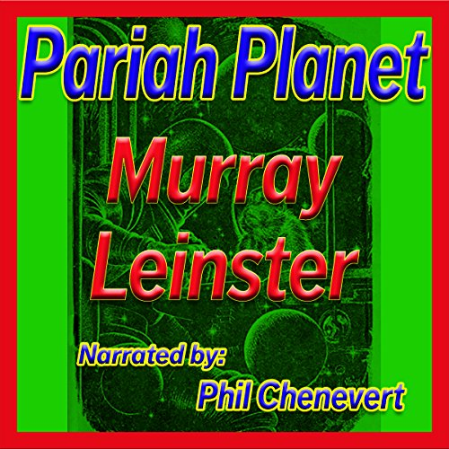 Pariah Planet audiobook cover art