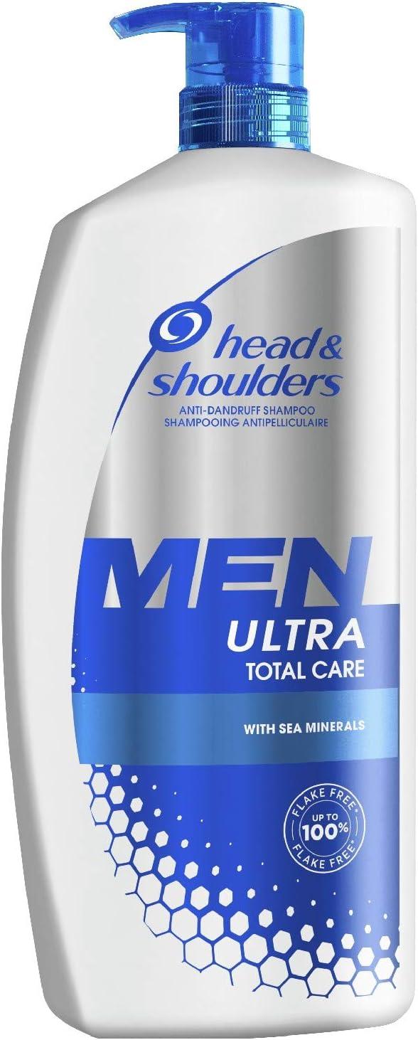 1041 opinioni per Head & Shoulders Men Ultra Total Care Antiforfora Shampoo 900 ml, Per Una