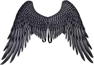 Angel Wings Plume Halloween Costumes, Stage Costume Accessory, Cosplay Props Halloween Mardi Gras Cosplay Party Pretend Play Dress Up Costume Wings for Adult