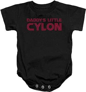 Battlestar Galactica TV Series Daddy's Little Cylon Infant Romper Snapsuit