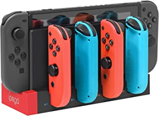 FYOUNG Charger Compatible with Nintendo Switch Controller, Charging Dock Station Base Compatible with Joycons with Indicat...