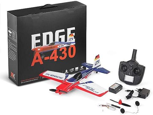 increíbles descuentos ELVVT A430 RC Plane 2.4G 5CH 5CH 5CH Sin escobillas 3D6G Sistema de avión Compatible con FUTABA S-FHSS Aviones RC Glider Niños y Adultos Cumpleaños  El ultimo 2018