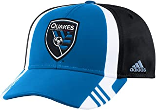 adidas San Jose Earthquakes MLS 2017 Authentic Team Structured Adjustable Hat