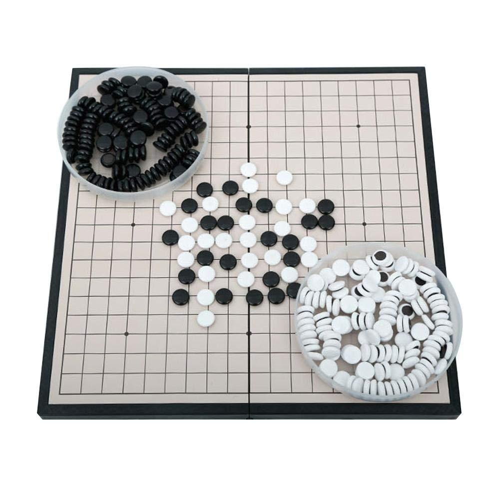 cineman Juego de Mesa de ajedrez Caminar, Juego de Mesa de Estrategia China clásico, Juego de Puzzle de 28,5 x 28,5 cm: Amazon.es: Hogar