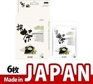 【JP512-C-0】抹茶シートマスク/6枚入り/6枚/美容液/マスクパック/送料無料