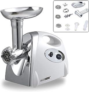 Máquina eléctrica para hacer salchichas y picar carne, engranaje de metal, 2800 W,