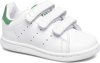 [アディダス] オリジナルス スタンスミス CF I WHT/GREEN BZ0520 Adidas Kids [並行輸入品]