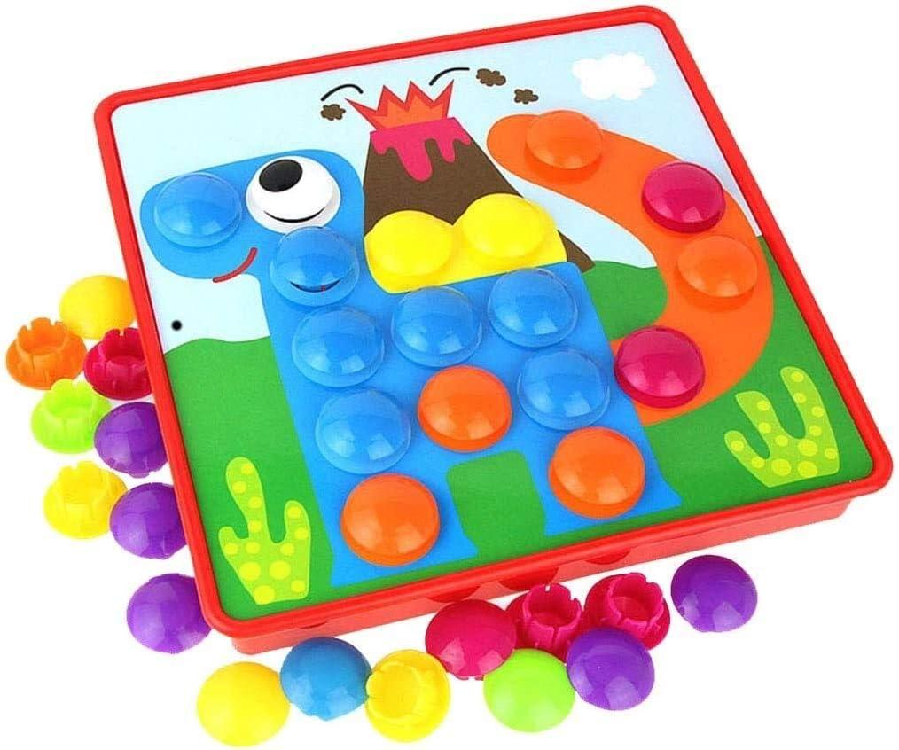 Aoyo Kids Very popular National products Puzzles Peg Board Design Cartoon Children Nai Mushroom