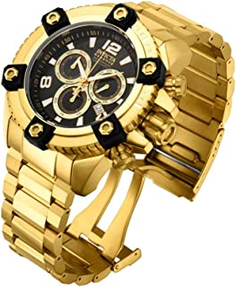 Men's Reserve Swiss-Quartz Watch with Stainless-Steel Strap, Gold, 16 (Model: 15827)