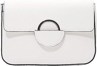 s.Oliver Damen Umhängetasche, 0210 White, Einheitsgröße