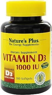 La vitamina D3. 1000 UI. 180 Cápsulas Blandas - Plus