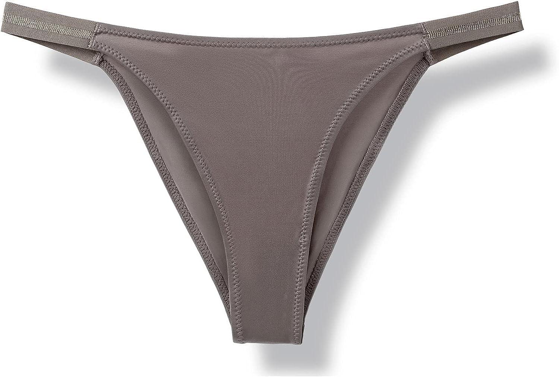 BHSJ Women Sexy Ice Silk Panties Lingerie Temptation Low-waist Briefs Ladies Soft Soid Underpants Thong Underwear