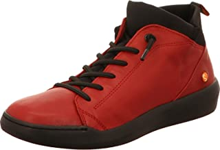 Softinos Damen Sneakers BIEL549SOF, Frauen High Top Sneaker,lose Einlage