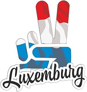 Suchergebnis Auf Für Luxemburg Aufkleber Merchandiseprodukte Auto Motorrad
