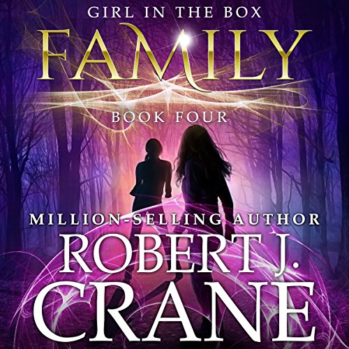 Family: The Girl in the Box, Book 4 audiobook cover art